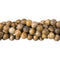 "GM-0155 - 6mm Picture Jasper Round Gemstone Bead Strand | 16"" Str"