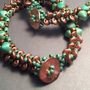 #PDF-181 - Y'ore So Vein Bracelet Project by Beth Stone