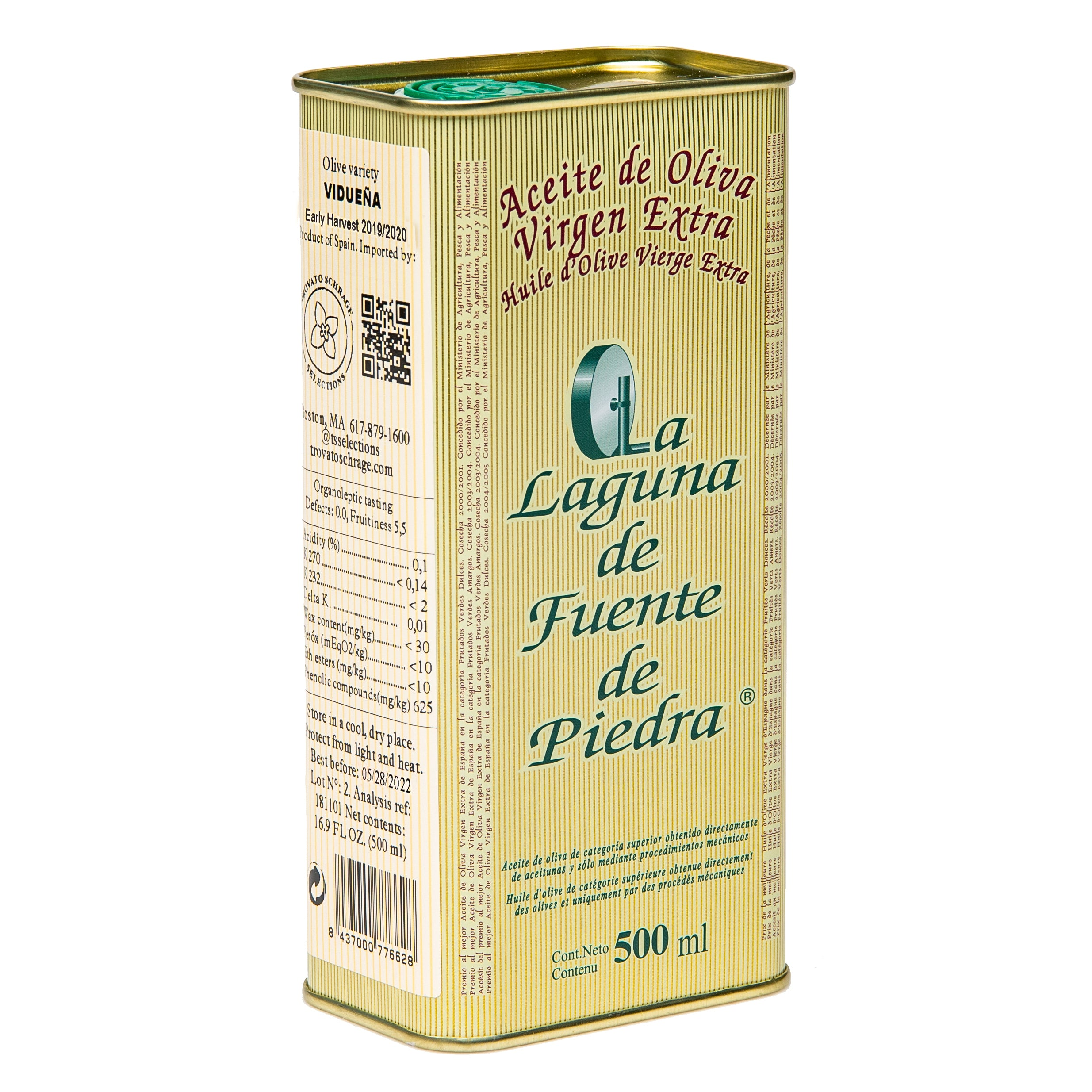 Lechin Extra Virgin Olive Oil 500ml