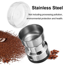 Load image into Gallery viewer, Electric Stainless Steel Coffee Bean Grinder