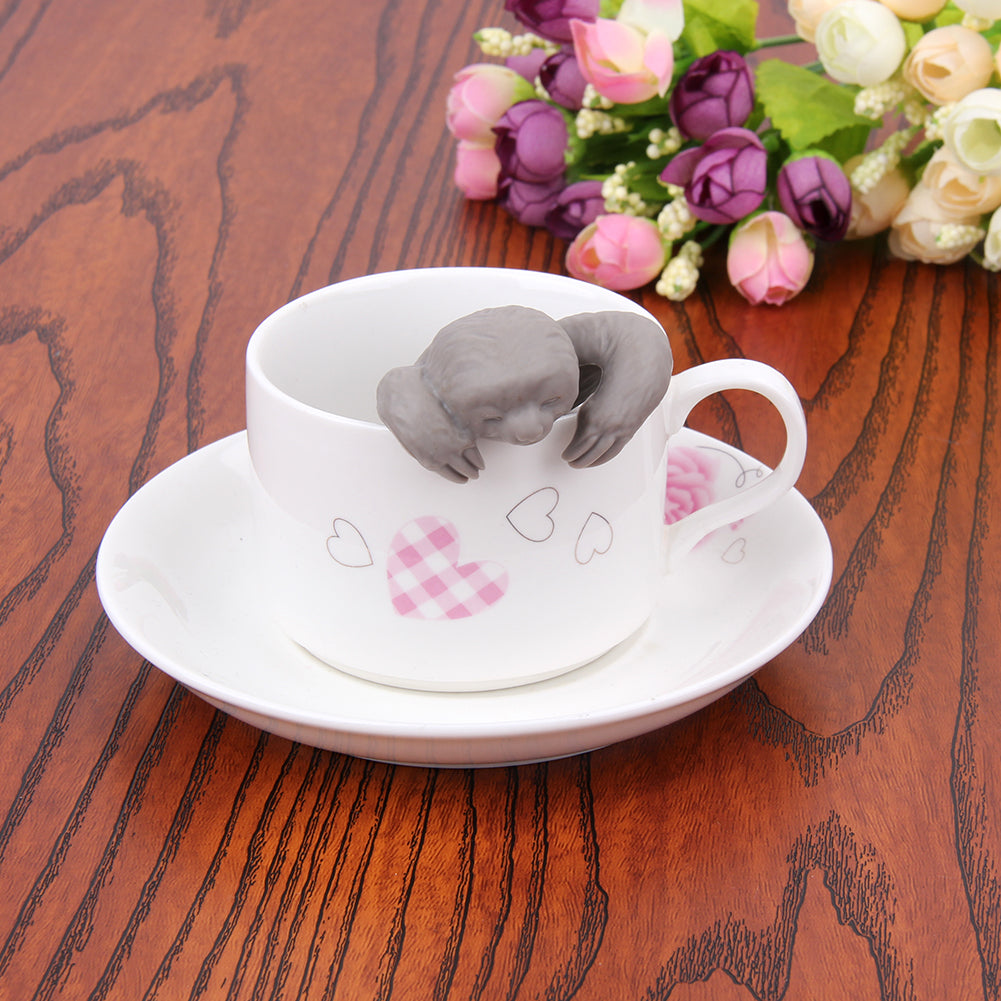 Cute Silicone Sloth Tea Strainer