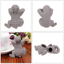 Load image into Gallery viewer, Cute Silicone Sloth Tea Strainer