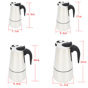 High Quality Stainless Steel Coffee Maker
