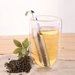 Creative Pipe Design Metal Tea Strainer
