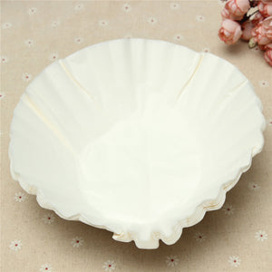 White Coffee Filters Single Serving Paper
