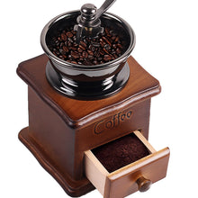 Load image into Gallery viewer, Wood Design Coffee Mill Maker