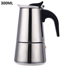 Load image into Gallery viewer, Stainless Steel Moka Coffee Maker