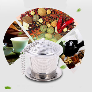 Stainless Steel Reusable Tea Strainer