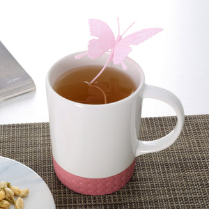 Butterfly Tea Strainer Silicone Filter