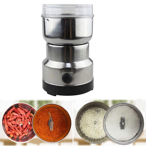 Electric Coffee Grinder Stainless