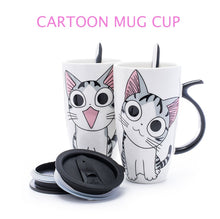Load image into Gallery viewer, Cute Cat Ceramics Coffee Mug