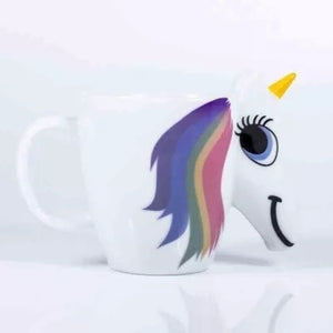 3D Ceramic Unicorn Coffee Cup