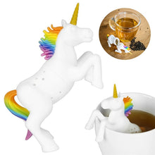 Load image into Gallery viewer, Unicorn Shape Silicone Tea Infuser