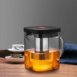New Square Glass Coffee Pot