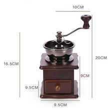 Load image into Gallery viewer, Classical Wooden Manual Coffee Grinder