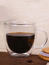 Load image into Gallery viewer, Heat Resistant Double Wall Tea Glass Cup