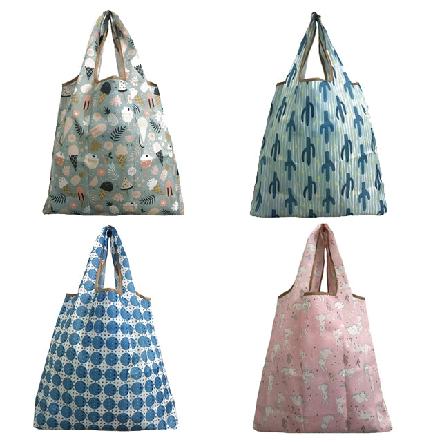 Reusable Eco Shopping Bag  (set of 4)