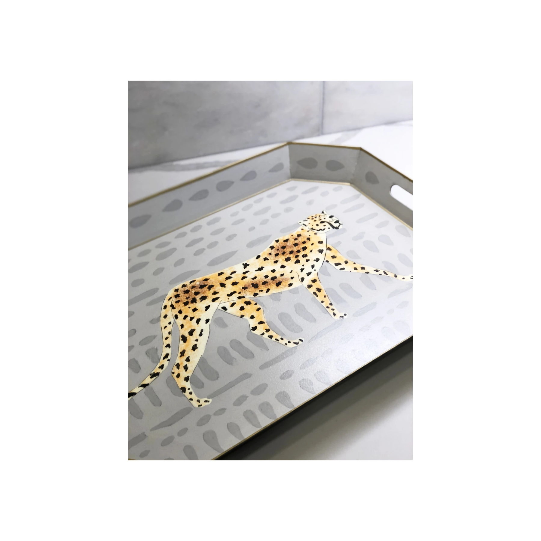 Mara Cheetah Serving Tray