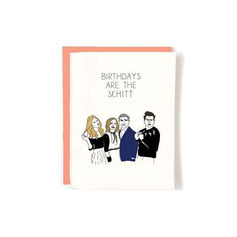 Schitt Birthday Card