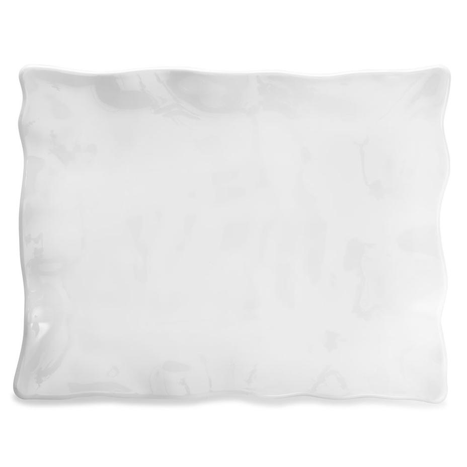 Ruffle Large Rectangular Serving Platter