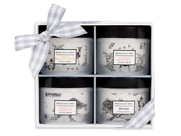 4 Piece Whipped Body Cream Sampler