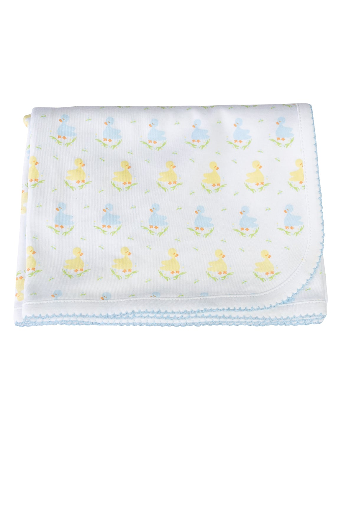 Blue Ducks Receiving Blanket