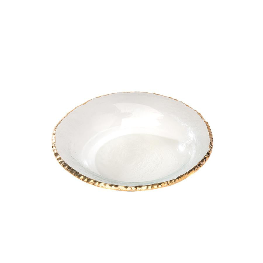 Edgey Gold Soup Bowl