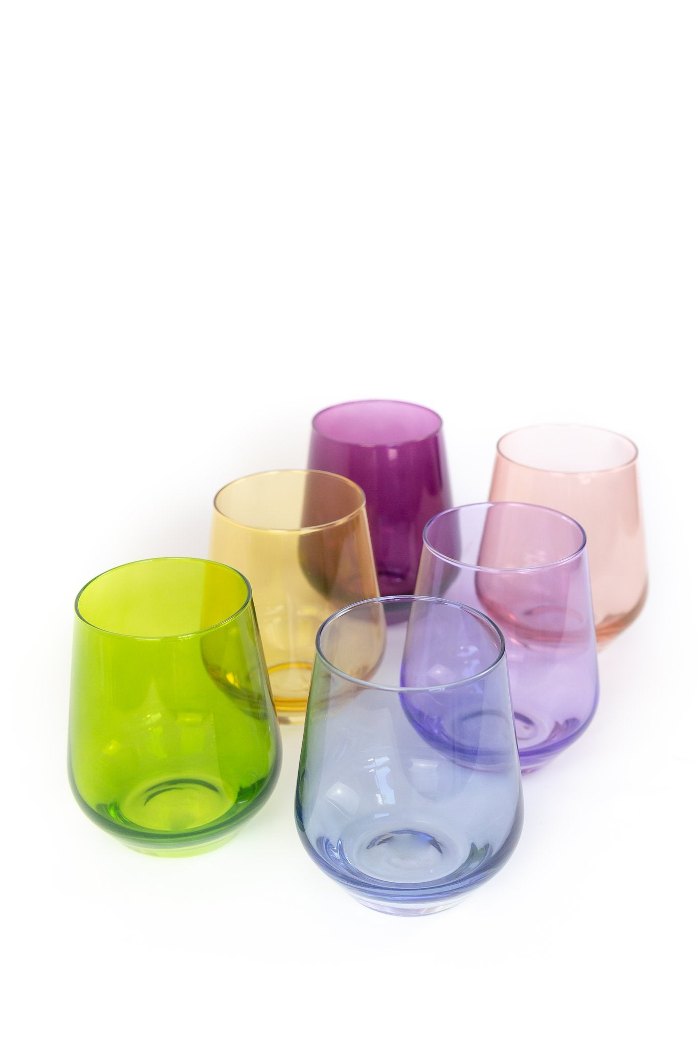 Estelle Stemless Wine Glasses