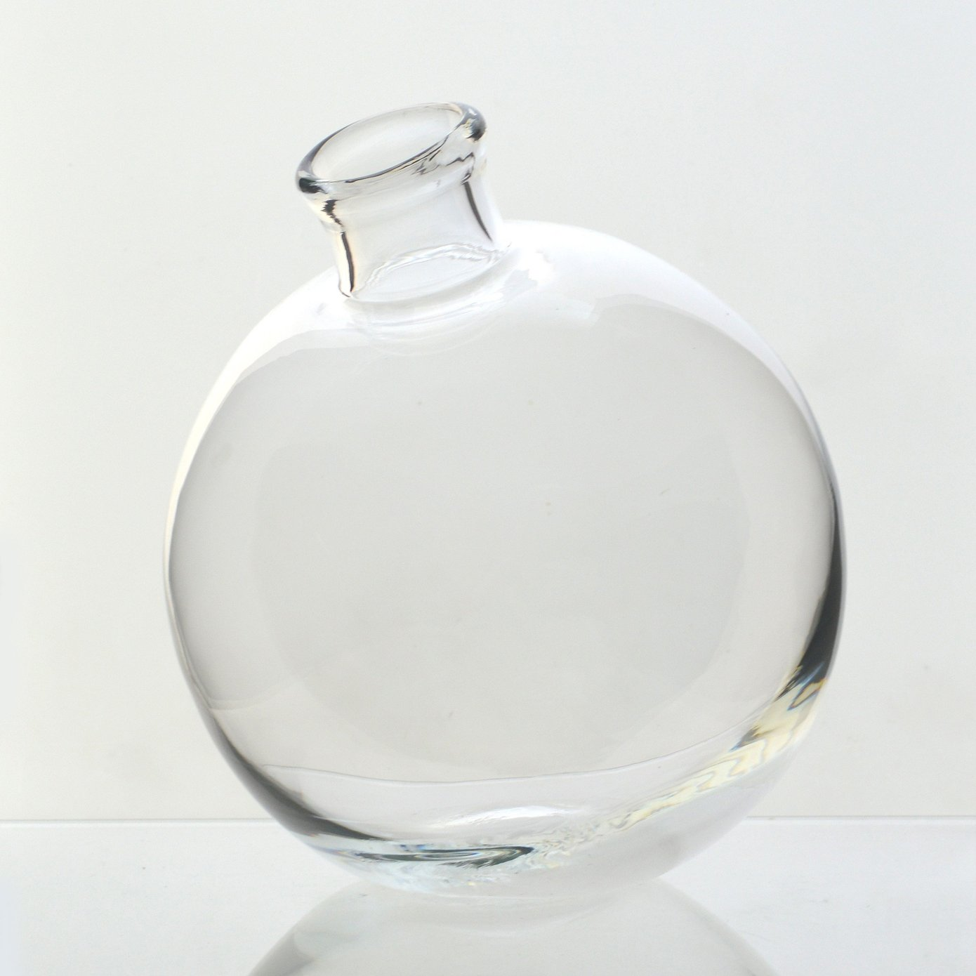 Clear Sphere Vase, 5""