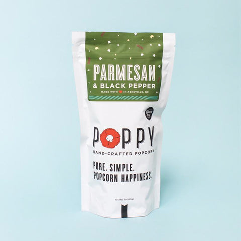 Parmesan & Black Pepper Popcorn