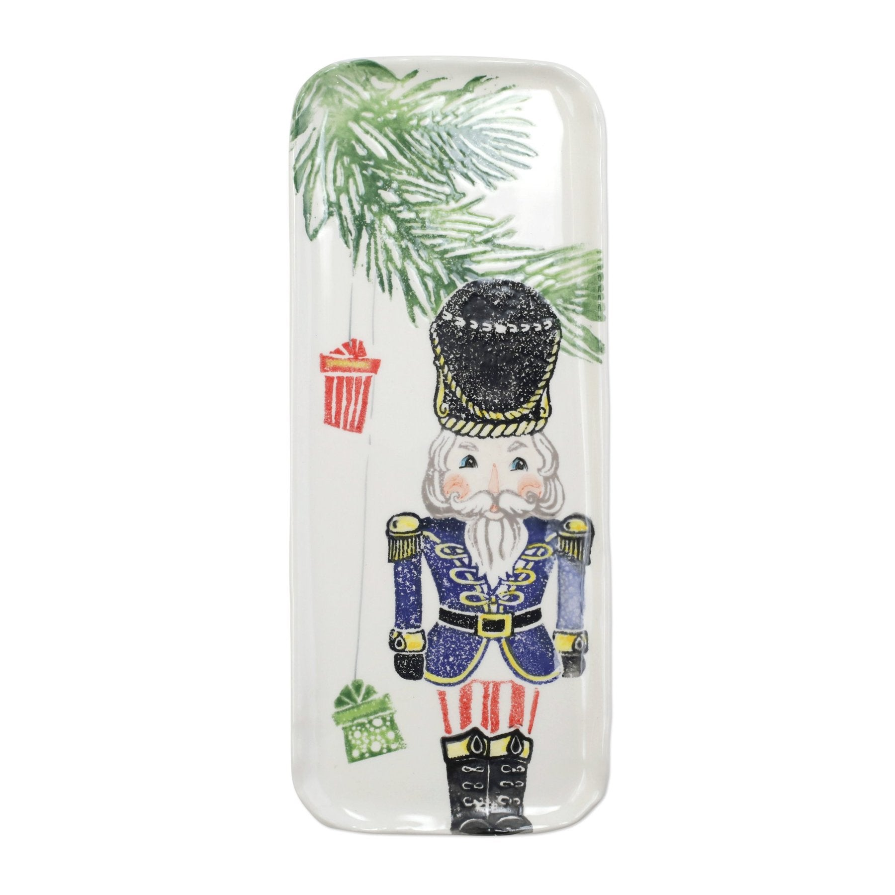 Nutcrackers Narrow Rectangular Platter