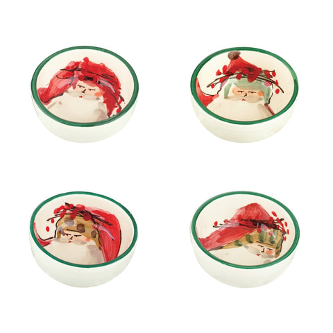 Old St Nick Assorted Condiment Bowls