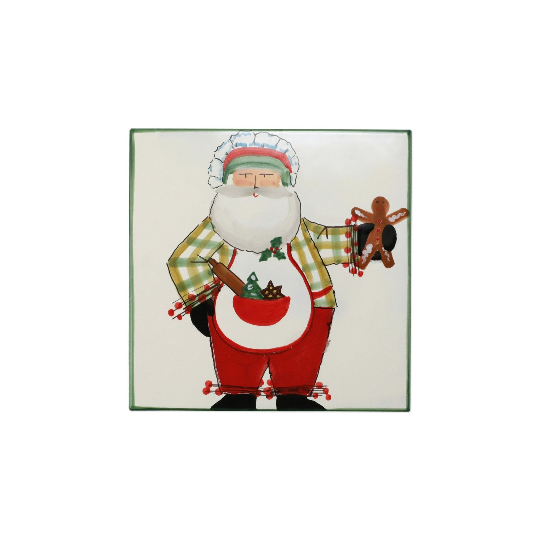 Old St Nick Trivet