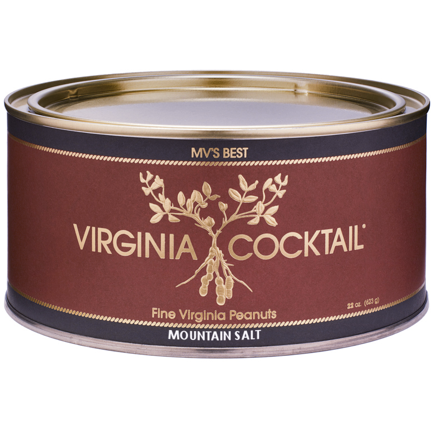 VIRGINIA COCKTAIL Mountain Salt Peanuts