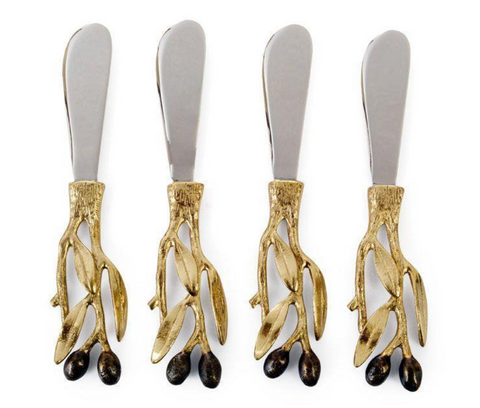 Olive Branch Spreader Set/4