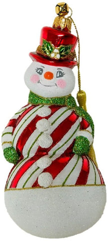 Sno-Stripes Ornament