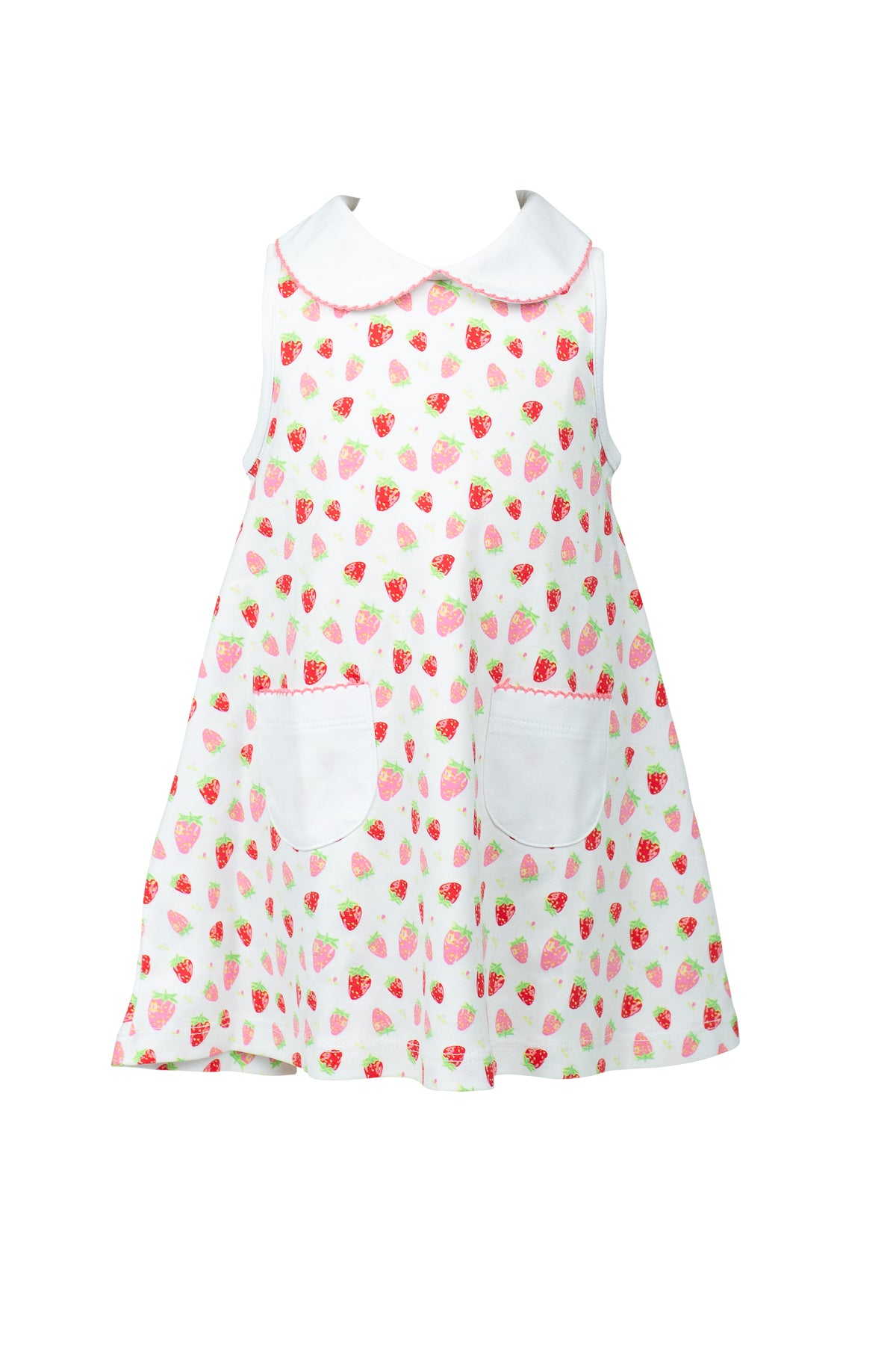 Strawberries A-Line Dress