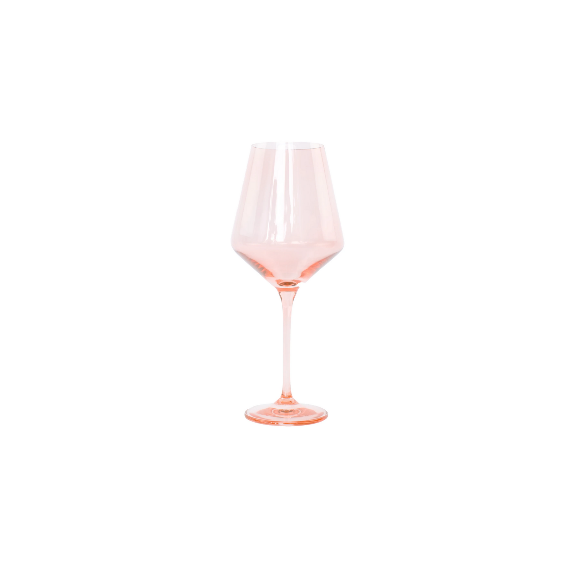 Blush Pink Wine Glasses