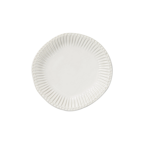 Incanto Stone White Stripe Dinner Plate
