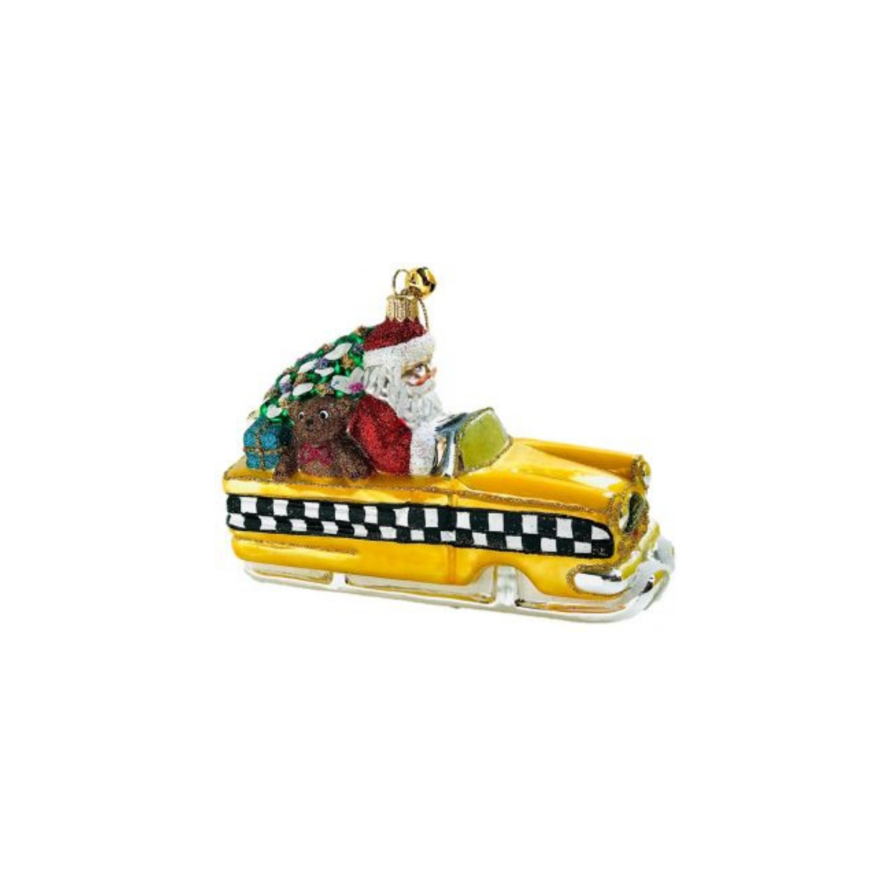 City Sno-Glide Ornament
