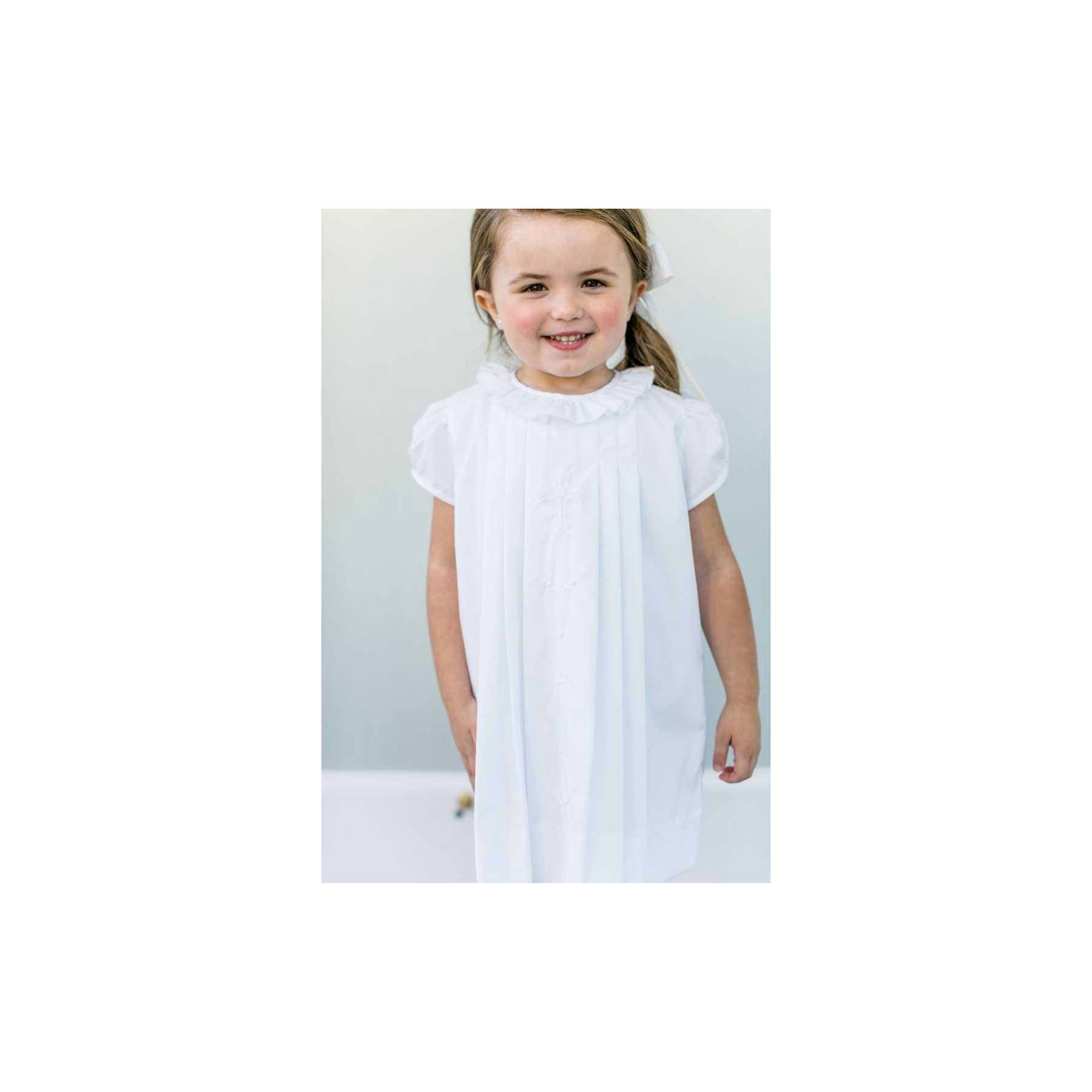 Cross Baptism Dress