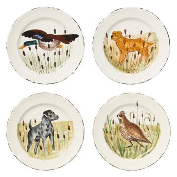 Wildlife Assorted Dinner Plates Set of 4