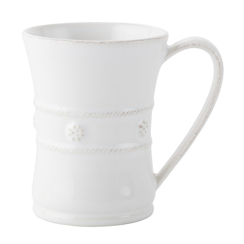 Berry & Thread White Mug