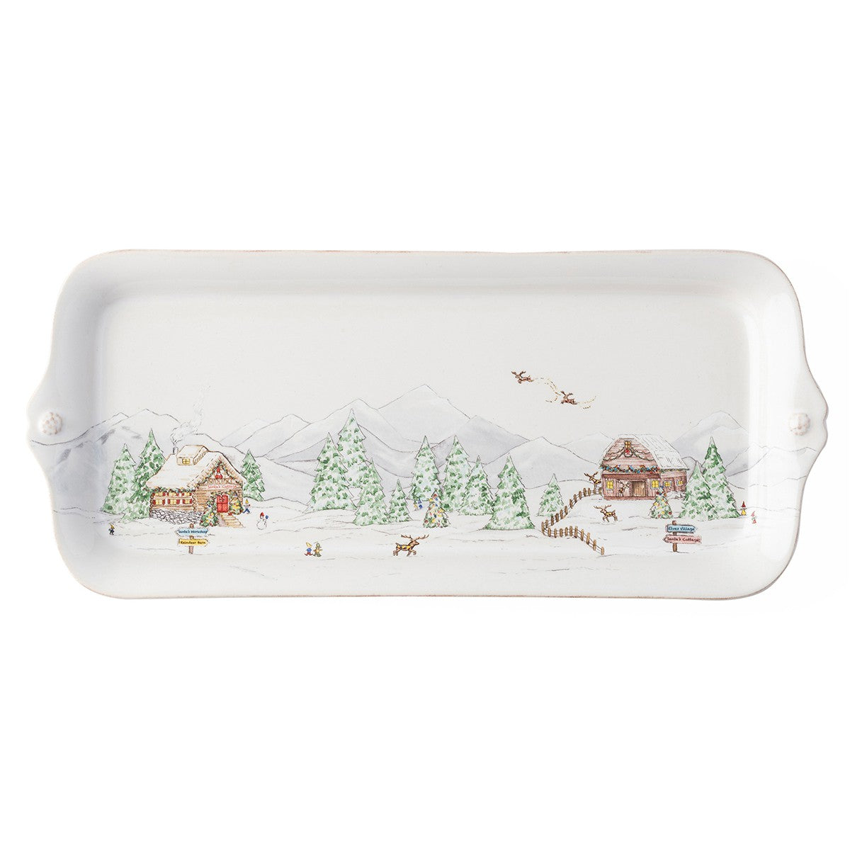 Berry & Thread North Pole Hostess Tray