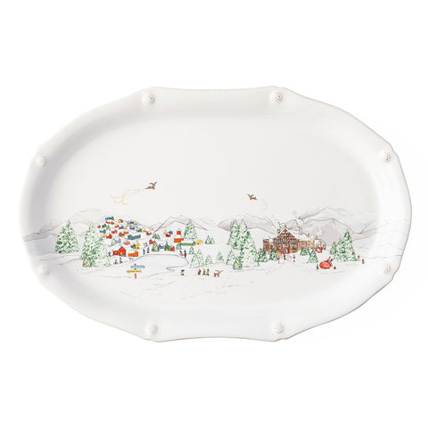 Berry & Thread North Pole Platter
