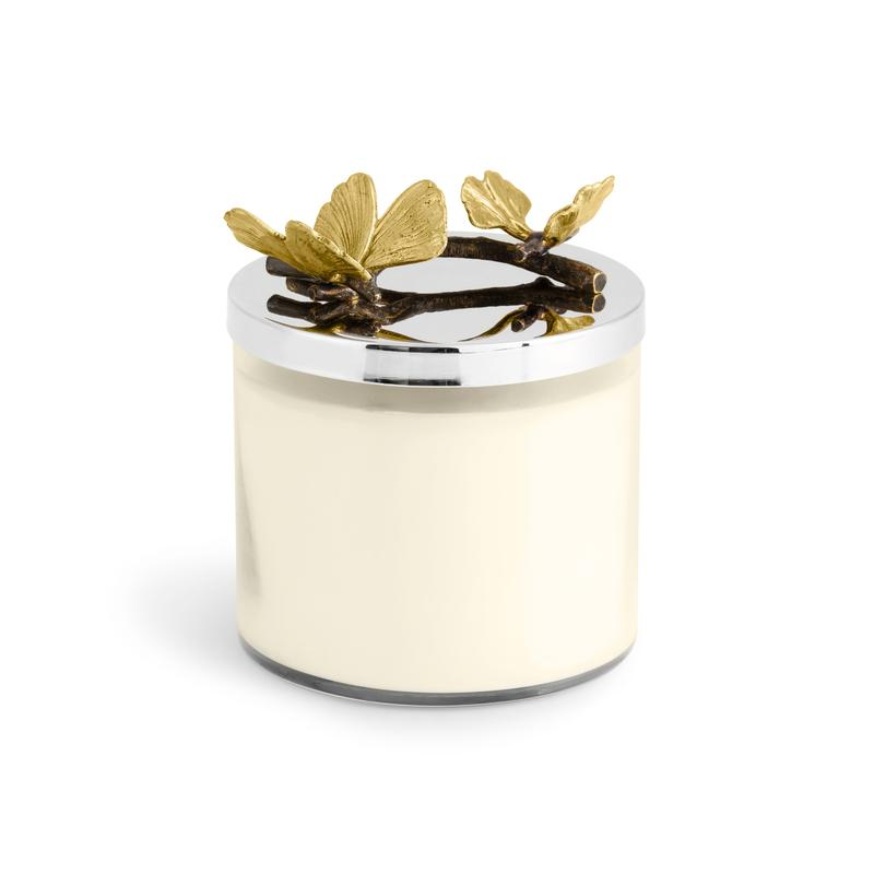 Butterfly Gingko Candle