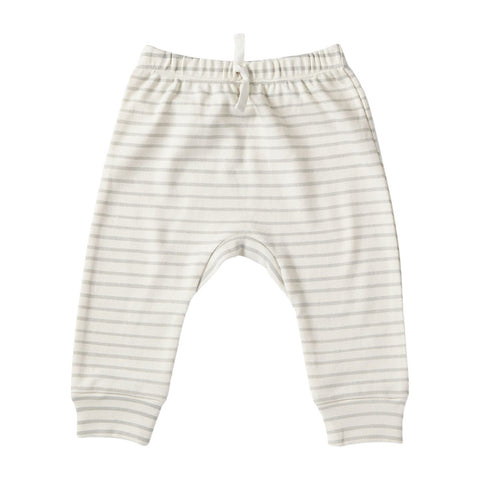Stripes pant pebble
