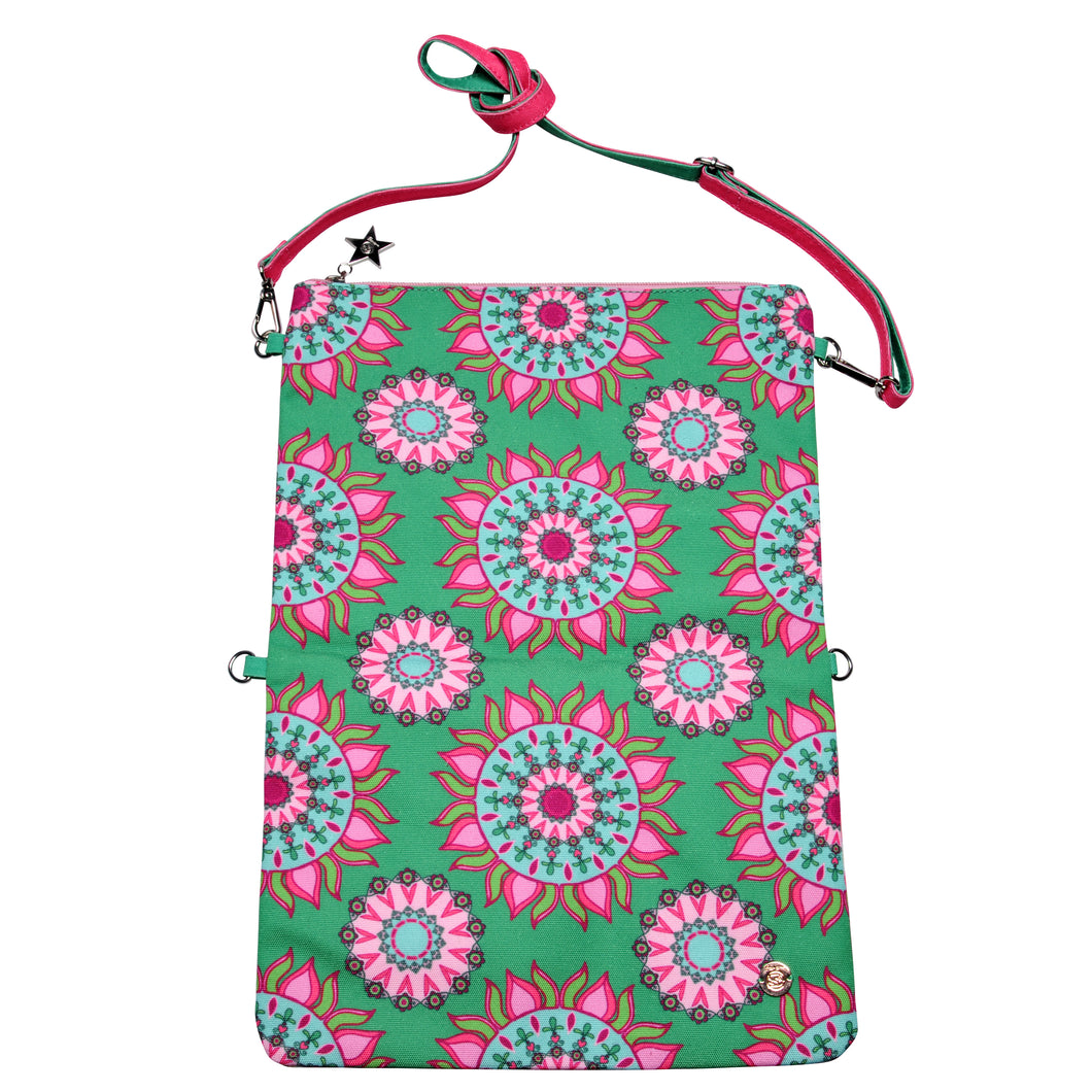 Cute Stuff Clutch Mandala Grün