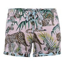 "Laden Sie das Bild in den Galerie-Viewer, Cute Stuff Shorts ""LEOPARDST"" Rosa"