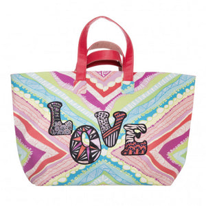 """ cute stuff Tasche Shooper Strandtasche – Xenia Love bunt """